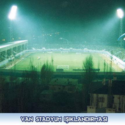 Van Stadyum Işıklandırması İnş