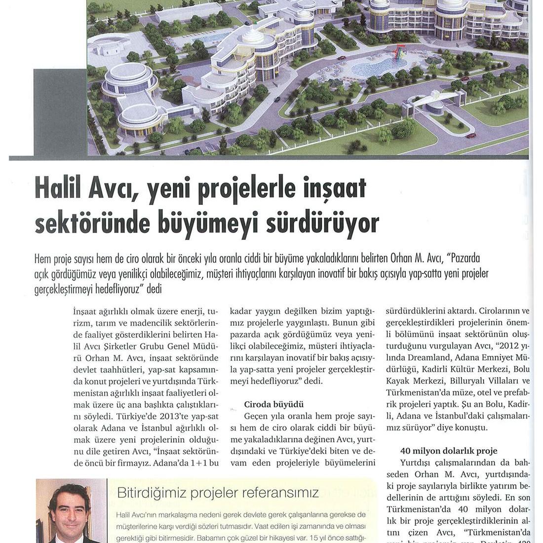 """7.05.2013 Dünya gazetesi """"Adana'nın incileri dergisi"""""""