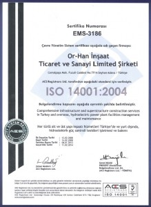 OR-HAN ISO 14001:2004