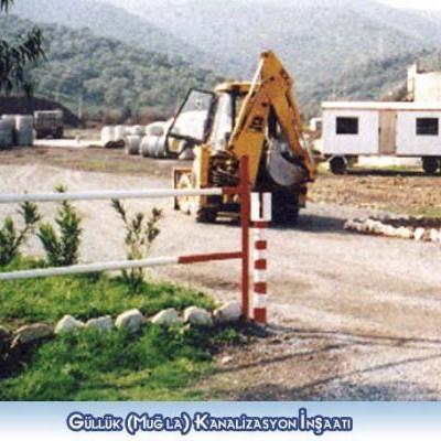 Güllük (Muğla) Kanalizasyon İn