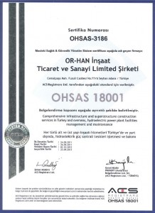 OR-HAN OHSAS 18001
